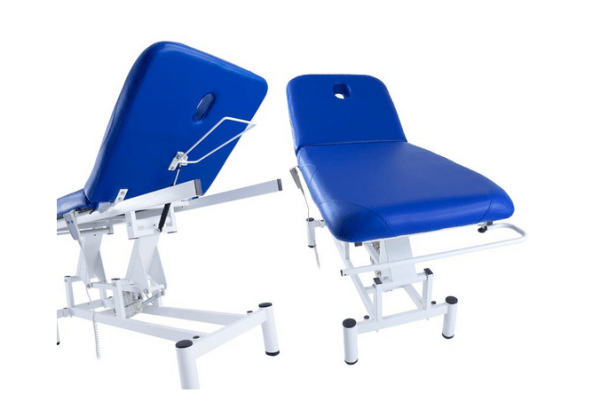 Two Section Electric Treatment Table Q PLUS 1 with Moveable Backrest 10