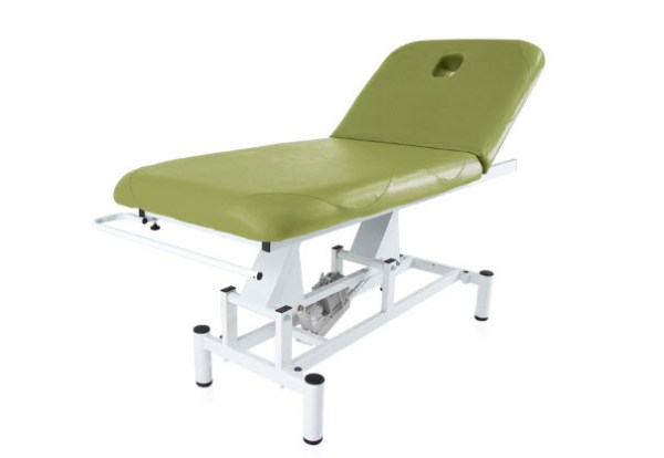 Two Section Electric Treatment Table Q PLUS 1 with Moveable Backrest 1