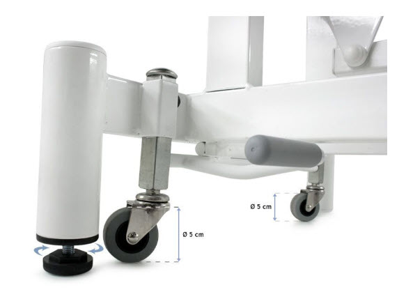 Two-Section Hydraulic Massage Table 4