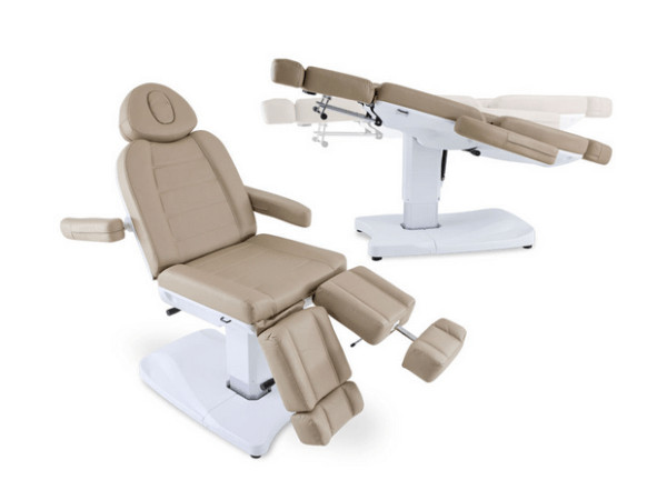 2-Motor Electric Armchair with Reclining Legs 2