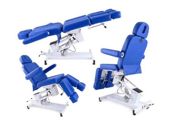 4-Section Electric Chair With Armrests And Individual Legs 2