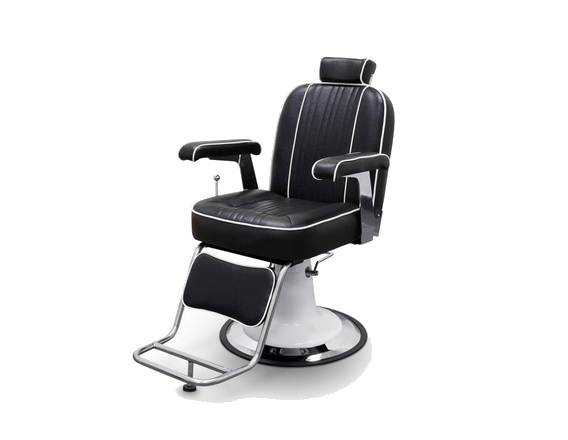 Black Cleveland Barber Chair 1