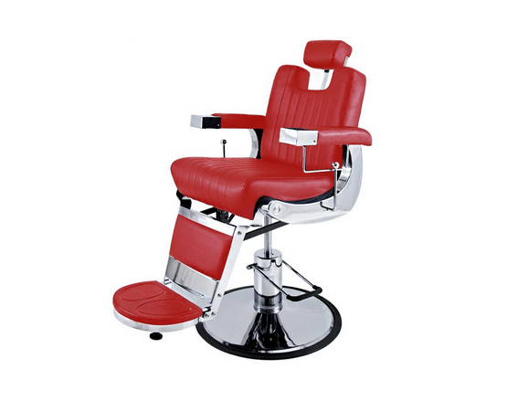 Tennessee Deep-Red Barber Chair 1
