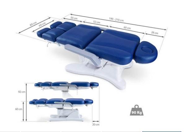 Electric Multifunction Chair, 3 Motors, Adjustable Legs 8