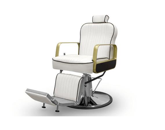 Tucson Barber Chair White 1