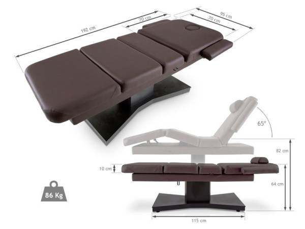 Electric Massage Table of Vertical Lift for Spa 2