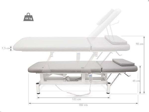 Electric Massage Table Basic 182x62 cm 3