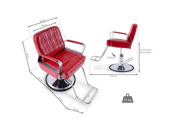 Dallas Hairdresser Chair 2