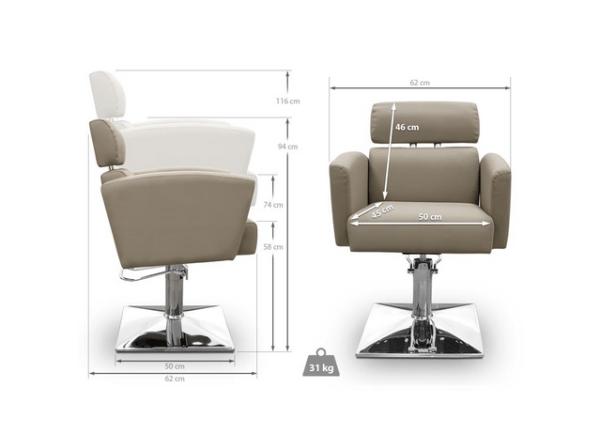 Livorno Hairdresser Chair 3