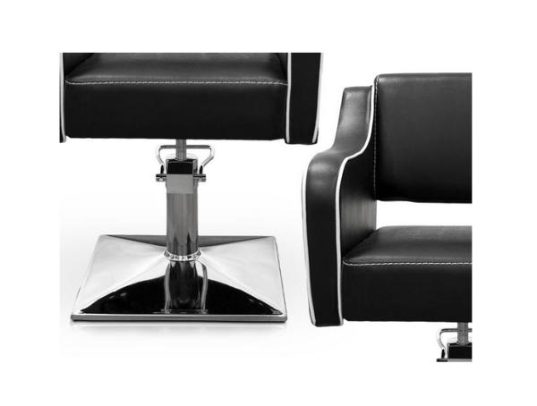 Black Pompeya Hairdresser Chair 3