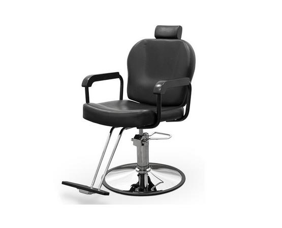 Black Sorrento Hairdresser Chair 1