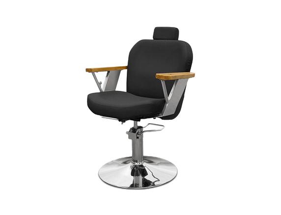 Black Firenze Hairdressers Chair 1
