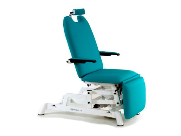 Ophthalmology Chair Three Sections with Folding Armrests and Headrest 1