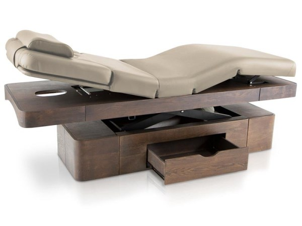 SPA Massage Table with LED Chromotherapy and Drawer 4