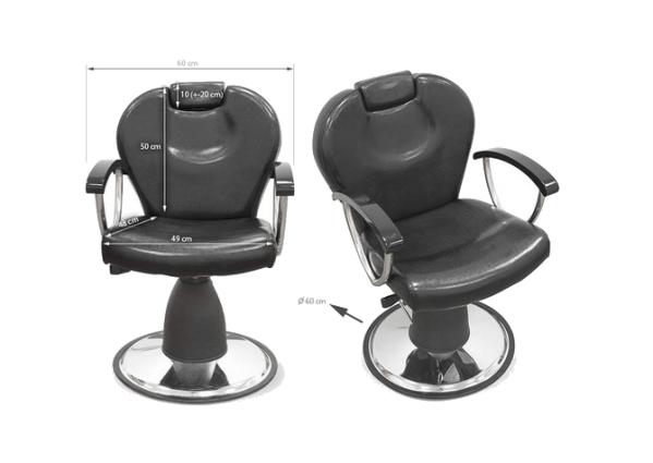 Styling Chair Foggia Black 3