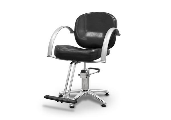 Black Sicilia Styling Chair 3