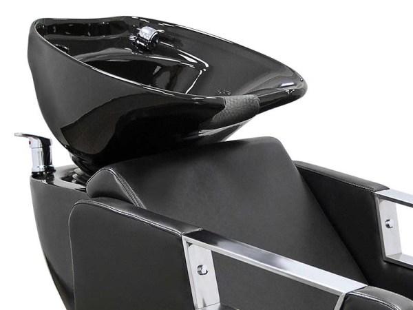 Hair Salon Backwash Unit with Chrome Finishing 7