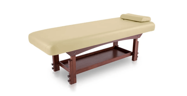 Fixed SPA Bed With Wooden Base 9