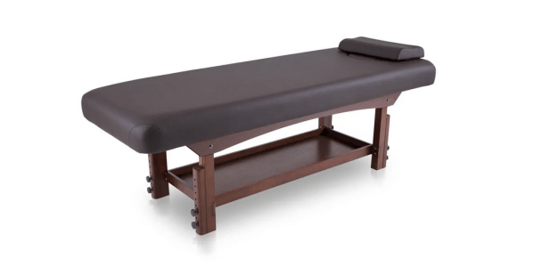 Fixed SPA Bed With Wooden Base 1