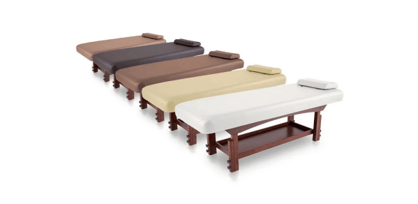 Fixed SPA Bed With Wooden Base 2