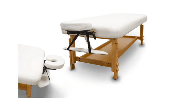 Fixed Wooden Massage Table for SPA 3