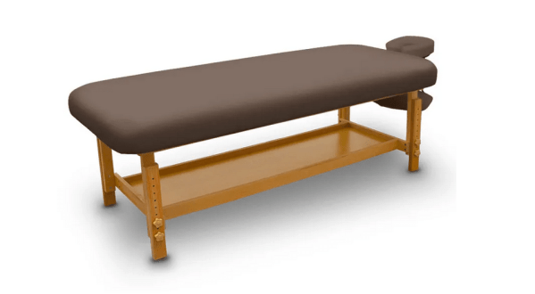 Fixed Wooden Massage Table for SPA 6