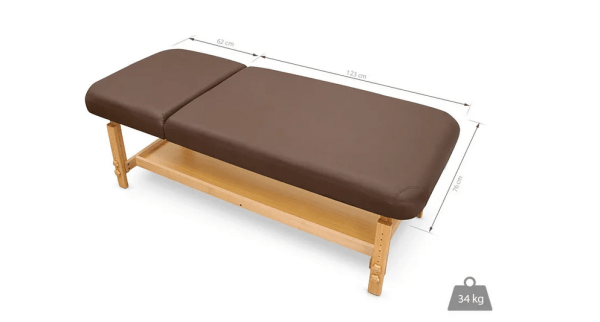 SPA Wooden Massage Table With Backrest 4