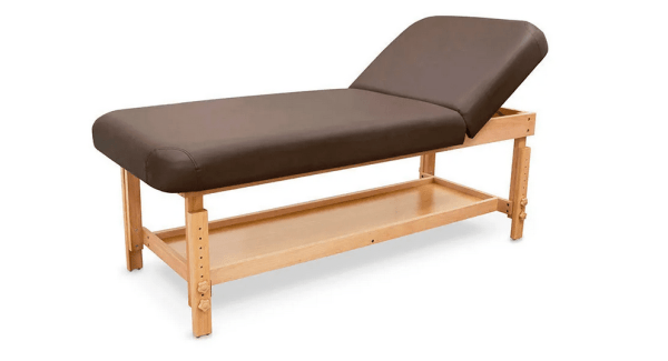 SPA Wooden Massage Table With Backrest 6