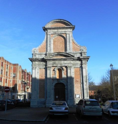 Chapelle de l'hôpital militaire ou Chapelle des Sœurs Noires.