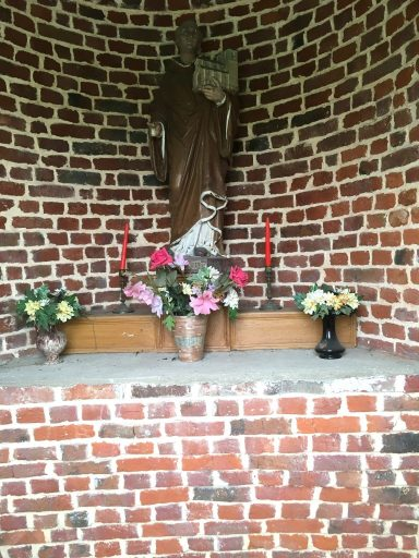 Intérieur de la chapelle St Quinibert