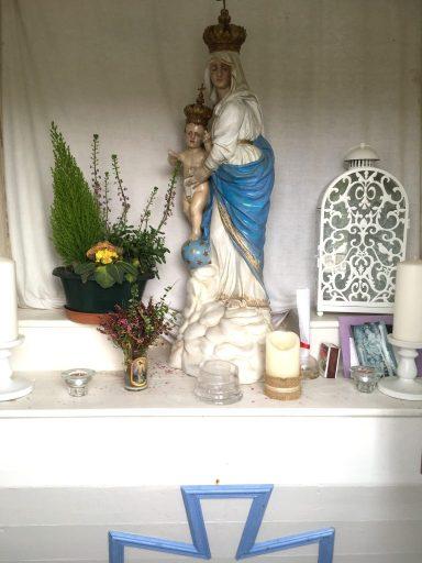 Intérieur de la chapelle N.D des Victoires