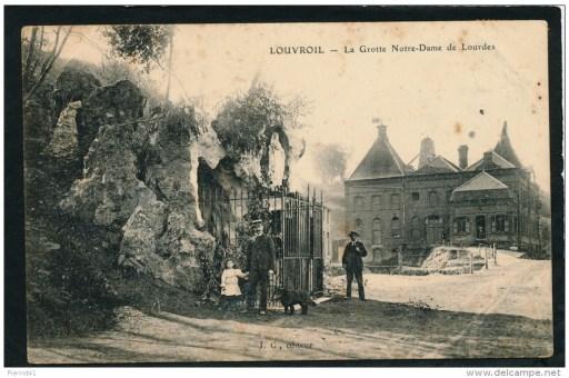 Grotte dans les années 1900