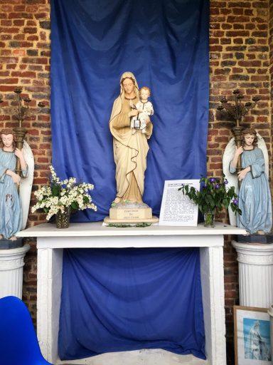 Intérieur de la chapelle N.D du Mont Carmel