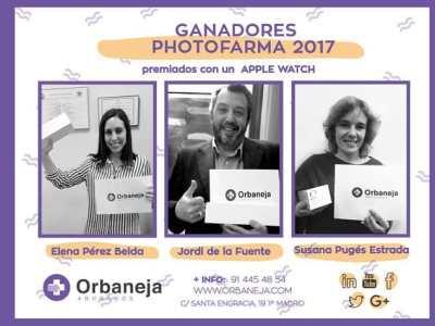 Ganadores del concurso de fotografía de farmacias 2017