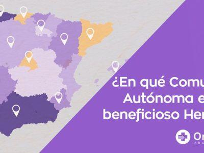 Impuesto de Sucesiones y Donaciones por Comunidad Autónoma