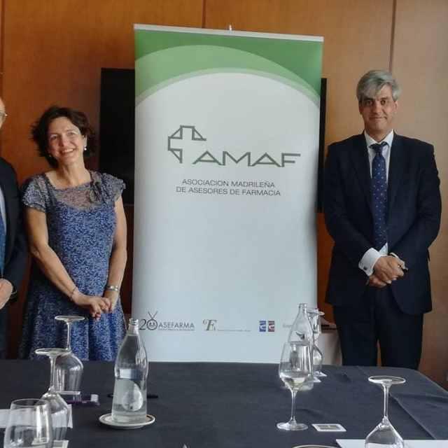 Ayer en la presentacin del informe Amaf 2016 farmacia farmaciashellip