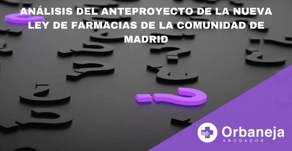 nueva Ley de Farmacias