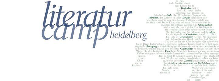 Bildergebnis für literaturcamp heidelberg