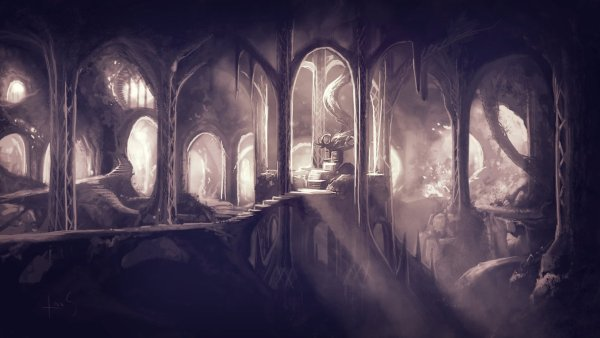 crivon-interior-de-iluval-the_eleven_kings_hall_by_caoranach-d6ybmn7-600x338 Contos de Iluminah: A Guerra das Lágrimas Flamejantes