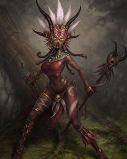 Forgotten_Mogno-a-Bruxa-Tatuada Heróis de Forgotten Realms: Mogno, a bruxa tatuada