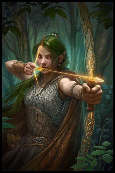 crivon-arco-flexa-veloz-elfa-402x600 Heróis de Crivon: Andrei e sua Tríade