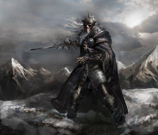skeleton_knight_by_chevsy-d718bgr-600x513 A Torre do Cavaleiro Vampiro, primeira parte