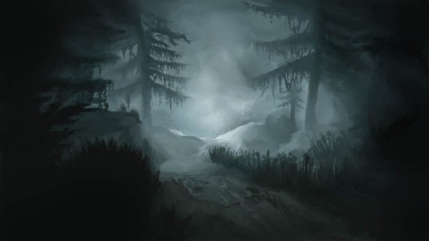 Arzien_Floresta_Grishtar_Noite A Coroa da Ruína, 1ª Parte: Atravessando Grishtar, sessão I