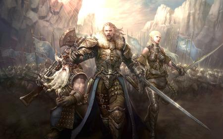 Racesofwar O Resgate do Reino dos Cavaleiros Sagrados, parte V