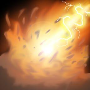 fireball2 O Resgate do Reino dos Cavaleiros Sagrados, parte V