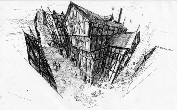 Medieval_city__by_Rufus_Jr-Mort-City-interior-600x374 Aventura CaLuCe: Caçada Insana em Vila da Pratinha – encontro marcado
