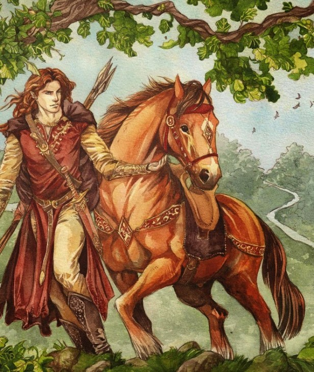 f9380-glorin Estratagema do Obscuro: o príncipe rastreador e o herói andarilho