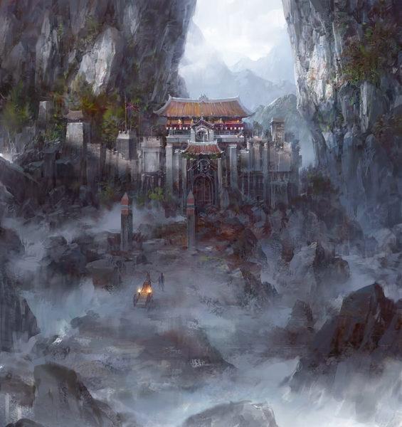 Forgotten_Caliban-5-Monastério-da-Iluminação-Interior-565x600 Caliban, O Andarilho Cinzento