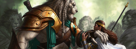 Magic_Ajani-e-Elspeth P.VI | A História de Magic The Gathering (Final)