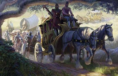 Greyhawk_Caravana-de-Beira-Lago Diário de um sacerdote do Sol - Parte II